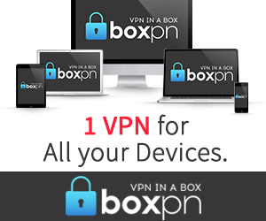 BoxPN.com - 1 VPN for all your devices